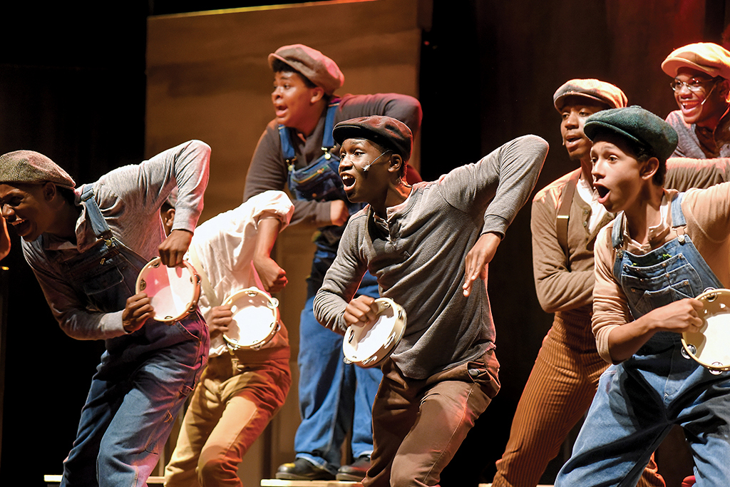 The Bradford High School performance of The Scottsboro Boys.