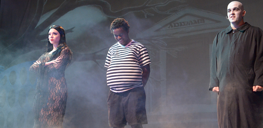 Spring Woods High School's production of The Addams Family.