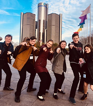The Michigan STOS were eager to welcome Thespians to MiFest 2019.