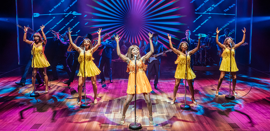 Adrienne Warren and the cast of Tina: The Tina Turner Musical.