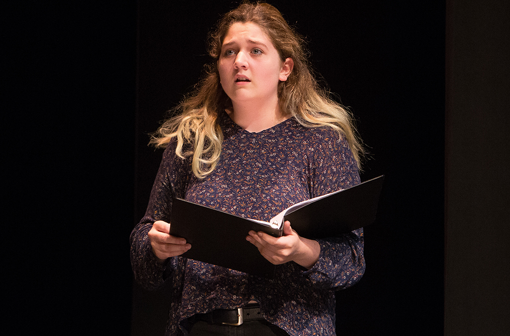 The 2019 staged reading of Silent Night at the International Thespian Festival.