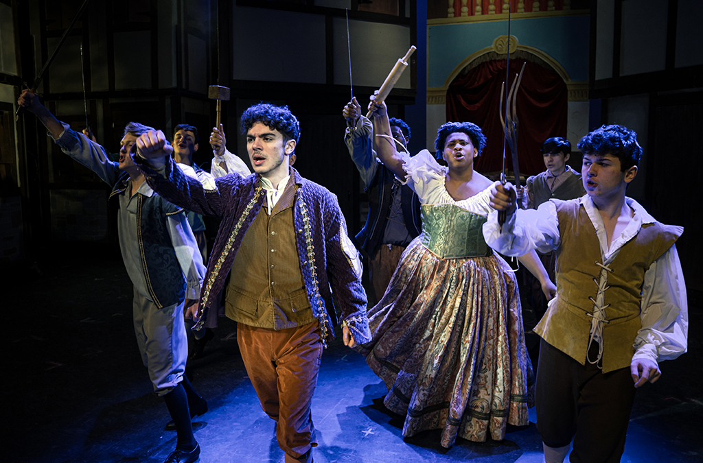Bradford High School production of Something Rotten