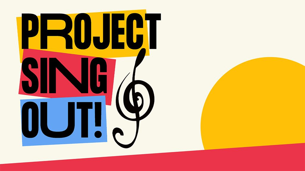 Project Sing Out logo image