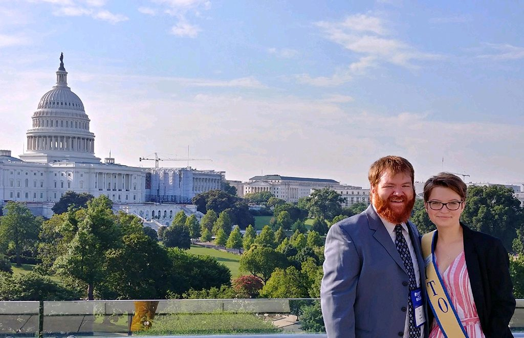 Maura Toole attended the 2019 Theatre Education Advocacy Day in Washington, D.C.