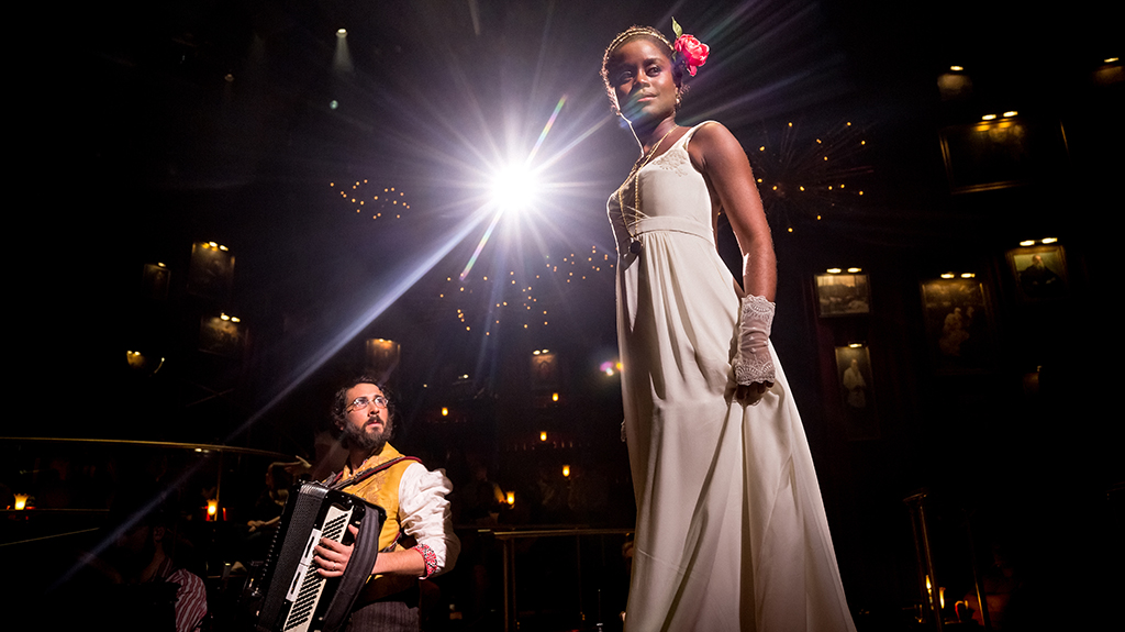 Josh Groban and Denée Benton