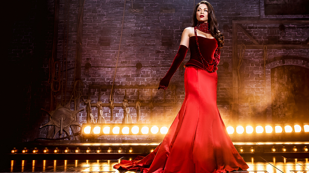 Karen Olivo in Moulin Rouge.