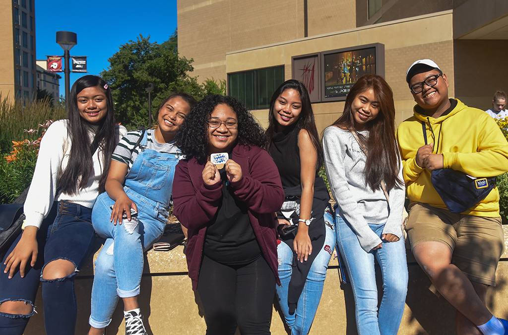 Group of students at the 2019 International Thespian Festival