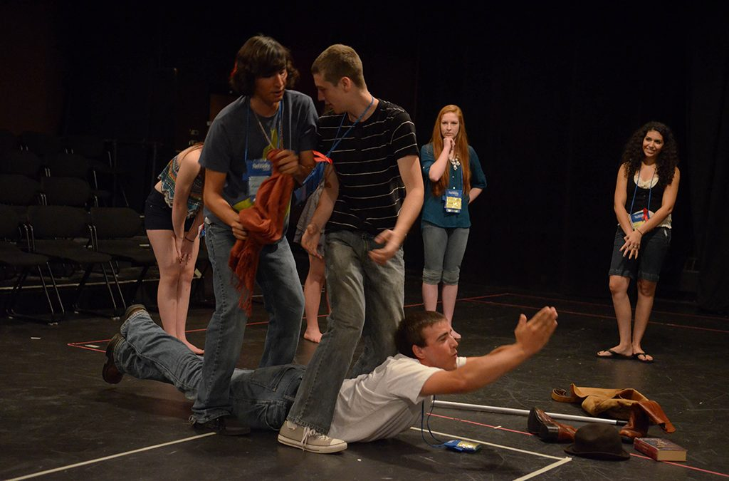 Improv's lessons include teamwork, adaptability, and listening.