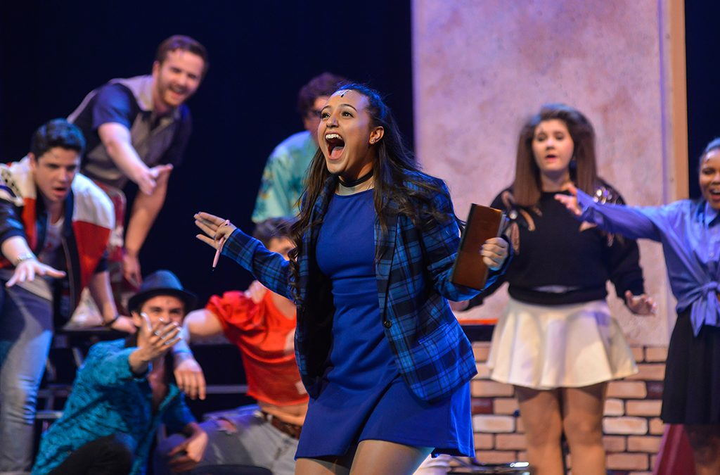 Photo from the J.J. Pearce High School 2017 ITF production of Heathers