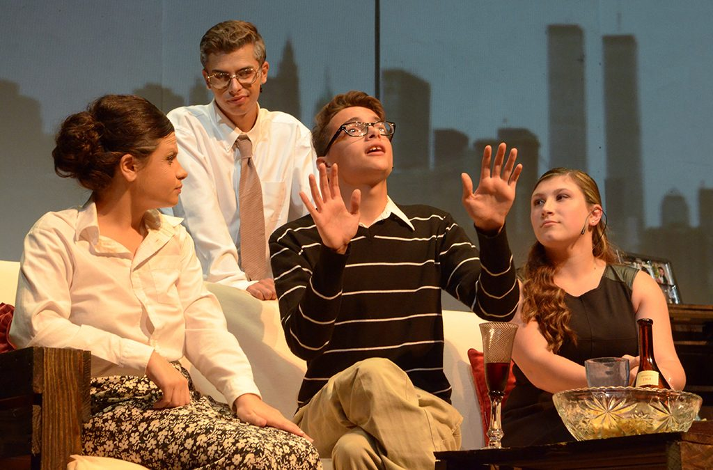 Photo from the Harry S. Truman High School 2014 ITF production of The Twilight of the Golds