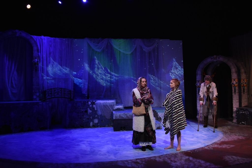 """""""Snow Queen"""" at Collaborative Theatre Project. Lighting Design by Luis Garcia. Photo by Mike Kunkel and courtesy of Luis Garcia."""