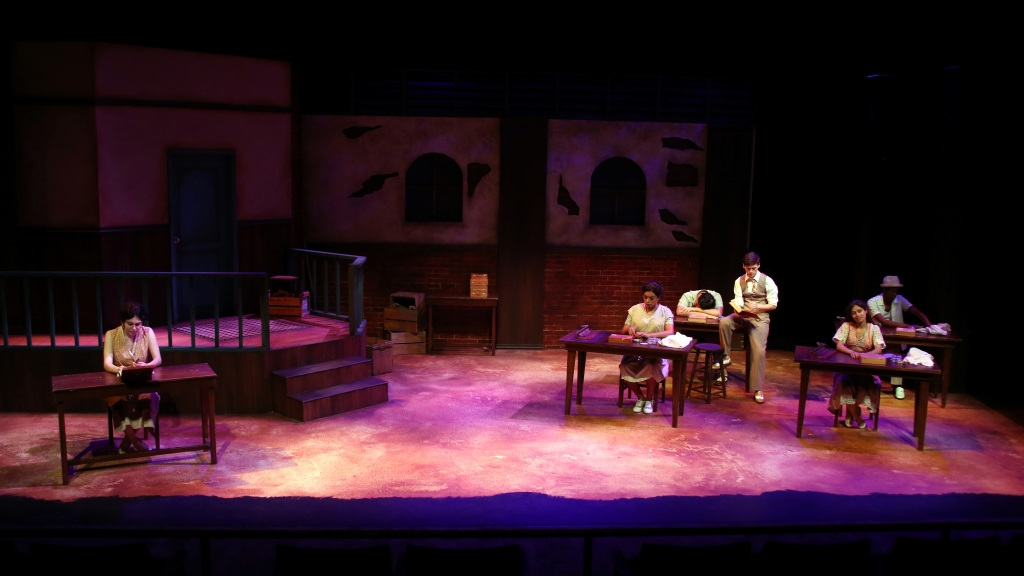 """Anna in the Tropics"" at Second Stage Theatre (Stetson University). Lighting Design by Luis Garcia. Photo by AndYou Films and courtesy of Luis Garcia."