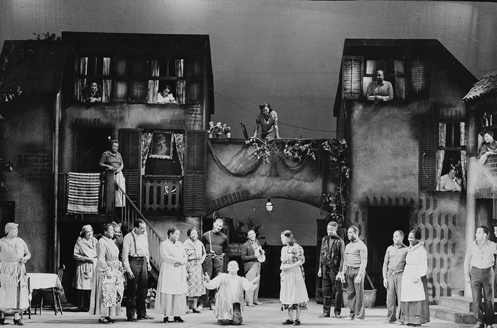 1935: Porgy and Bess premieres in Boston.