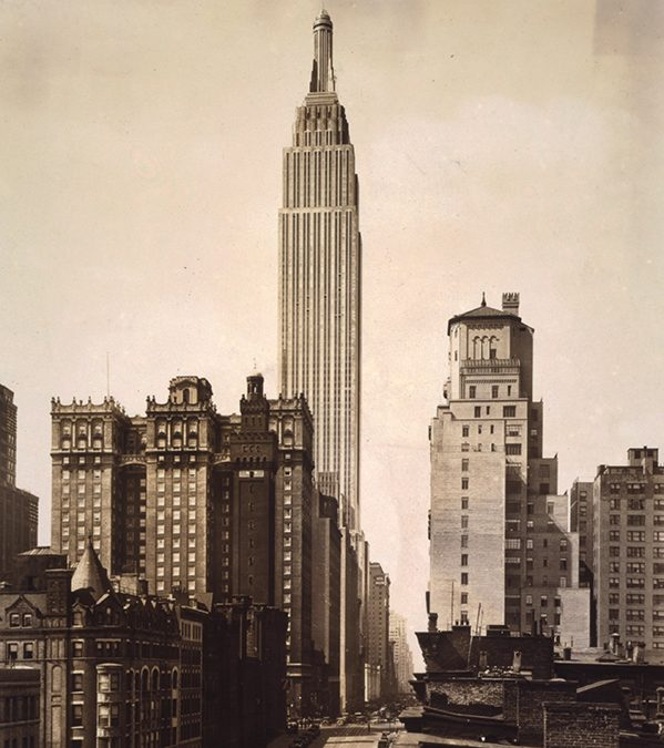 1931: The Empire State Building opens in New York.