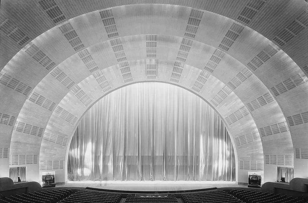 1932: Radio City Music Hall opens in New York.